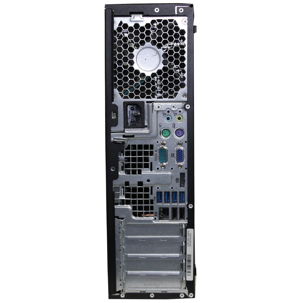 HP Pro 6300 SFF - Core i5 - (Configure to Order) - desktop - back - rear view