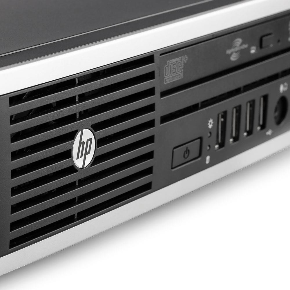 Hp Elite USDT 8200 computer - Close view