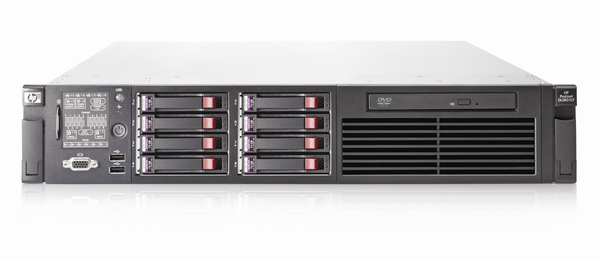 HP PROLIANT DL360 G7 (CTO) RACK SERVER - front view