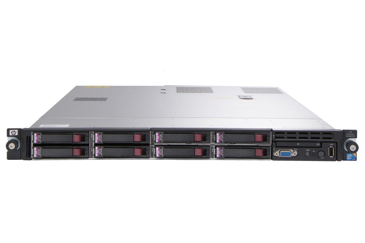 HP PROLIANT DL360 G7 SERVER - Front view