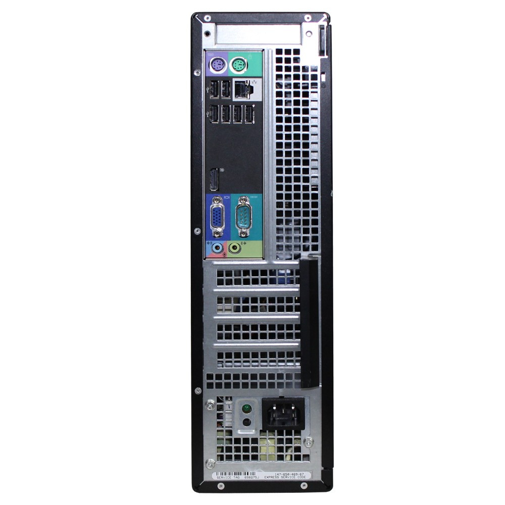 Dell Optiplex 790 - Back Interface
