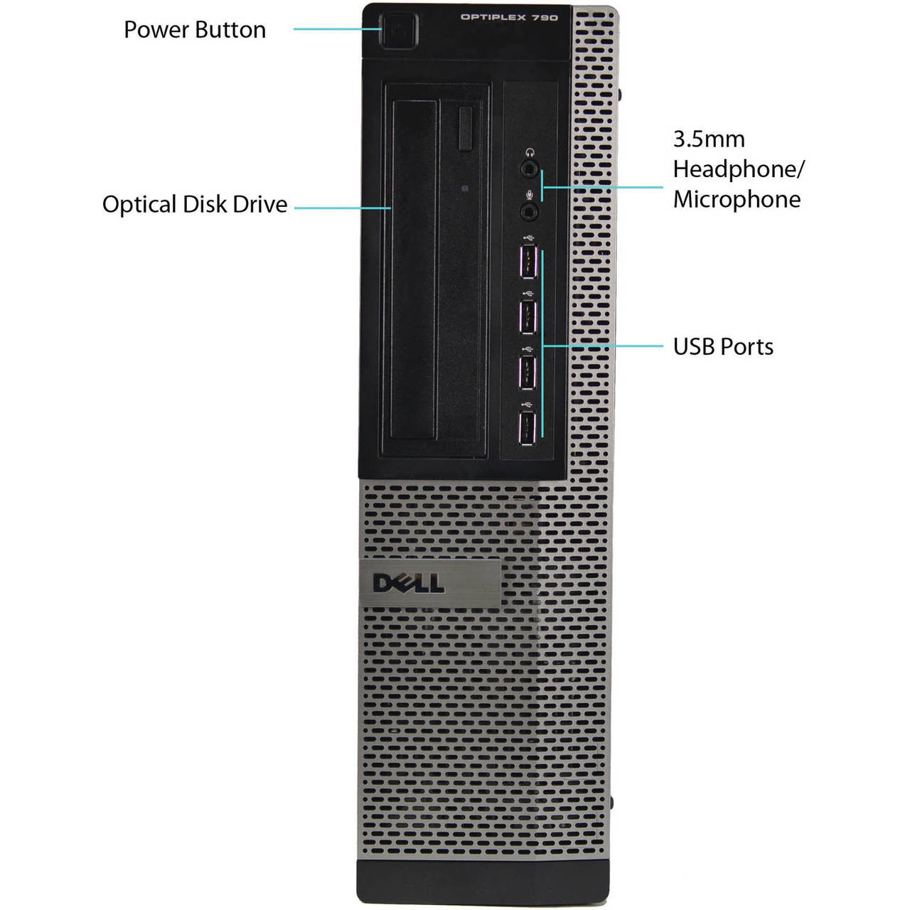 Dell Optiplex 790 - Front View 2