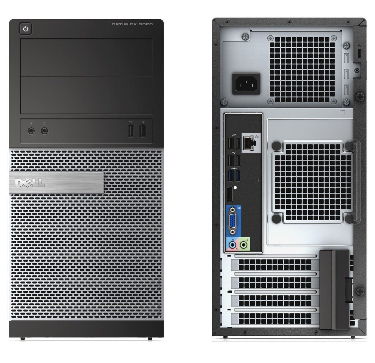 Dell Optiplex 3020 Minitower - Front and back View