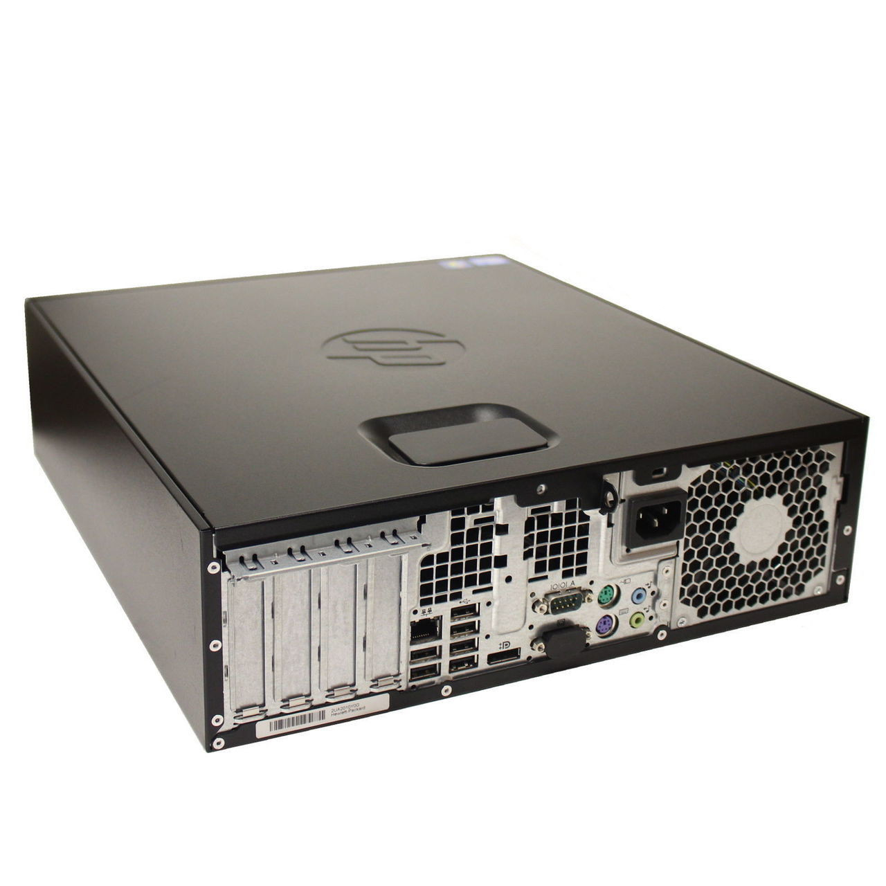 HP 4300 SFF - REAR SIDE VIEW