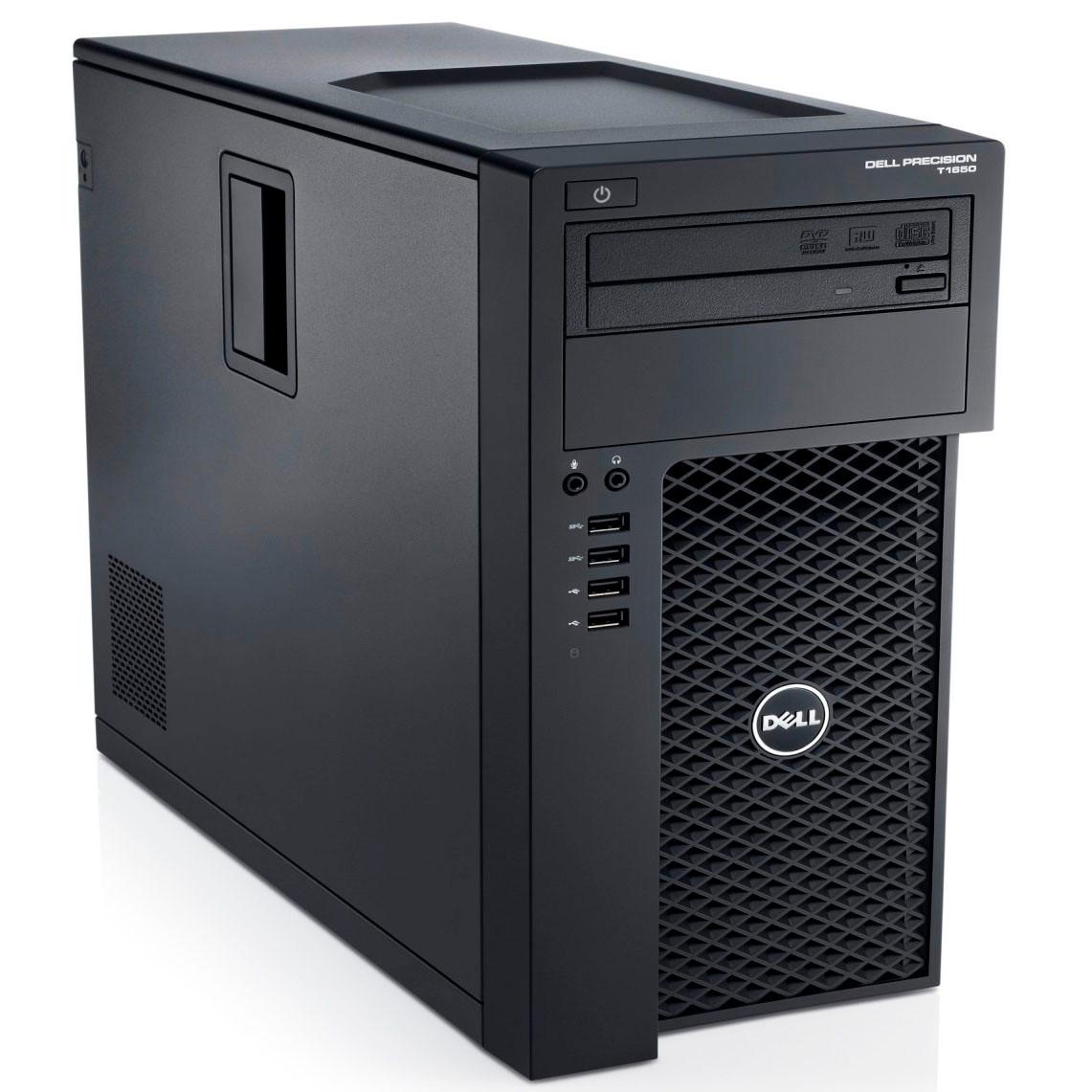 Dell Precision T1650 - Front View
