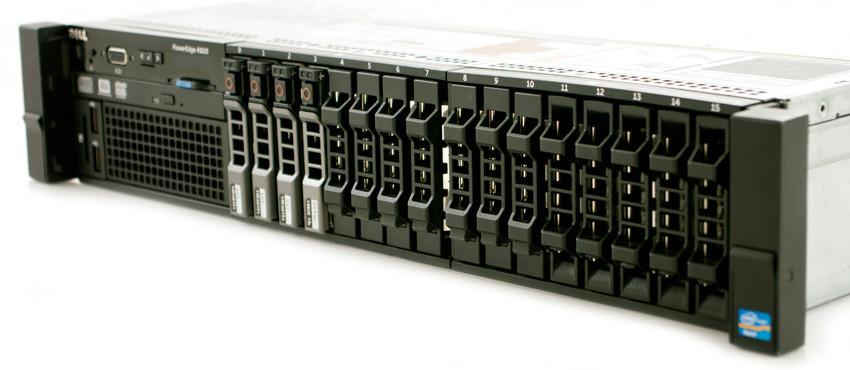DELL PowerEdge R820 - Rear View