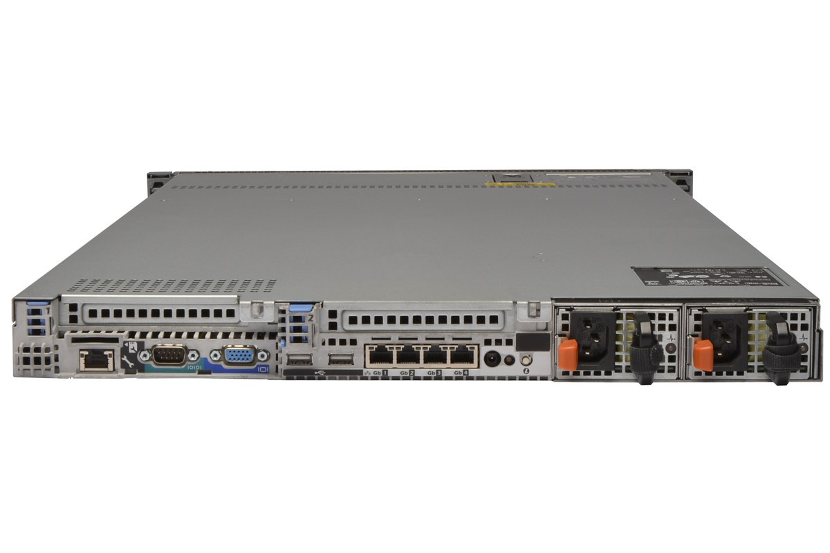 DELL PowerEdge R610 - Rear View