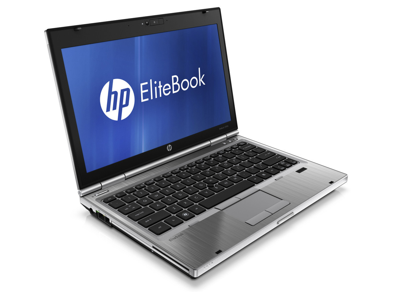 HP Elitebook 2560p laptop - Side view