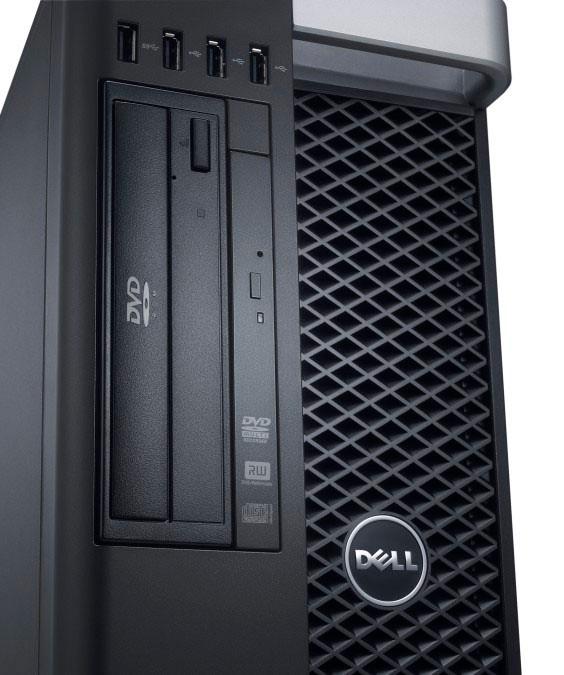 Dell Precision T5600 - Front View