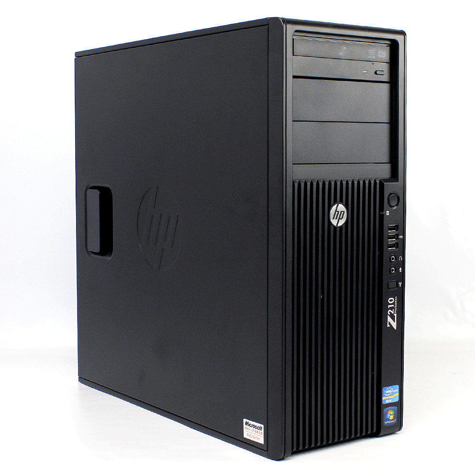 HP Z210 Workstation - Side View