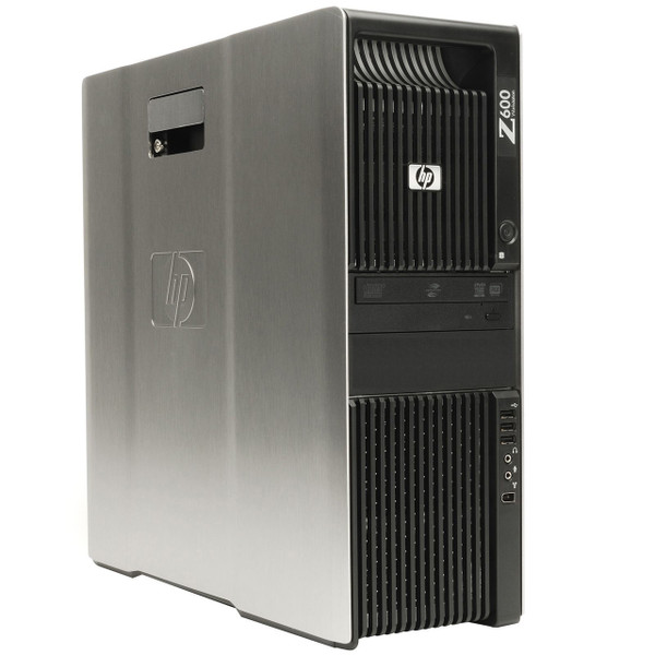 HP Z600 Workstation - front left view