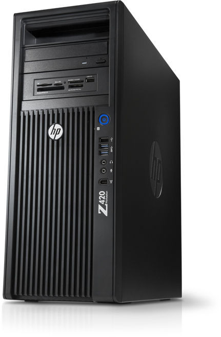 HP Z420 Refurbished Computer Workstation