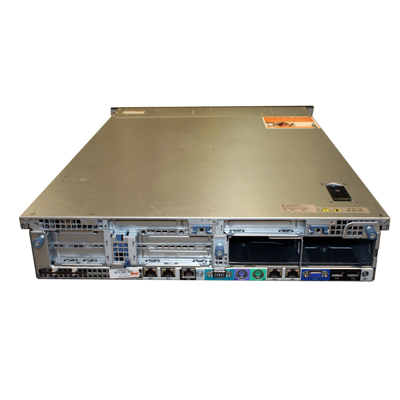 HP PROLIANT DL360 G7 (CTO) RACK SERVER - rear view