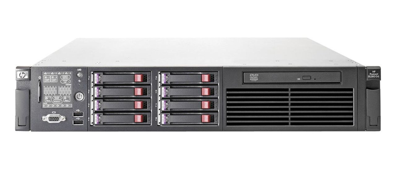 HP PROLIANT DL360 G6 (CTO) RACK SERVER 494329-B21 - front view