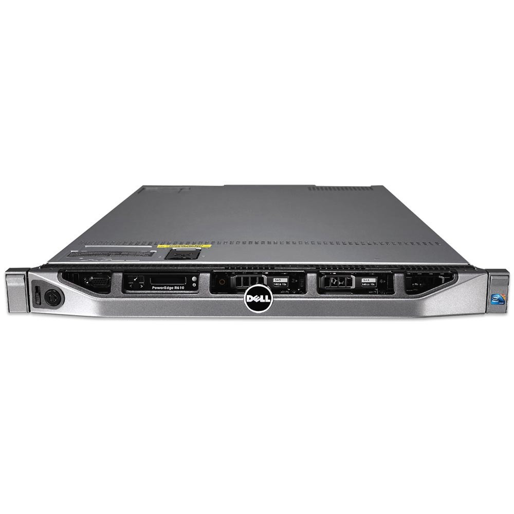 DELL PowerEdge R610 - Front View