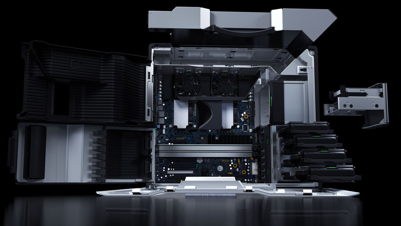 HP Z800 Workstation - spatial view