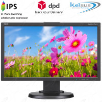 "NEC E203Wi-BK 20"" Widescreen LED Backlit IPS Monitor DisplayPort  DVI-D  VGA"