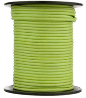 Lime Green Round Leather Cord 1.0mm 10 meters
