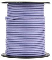 Light Purple Round Leather Cord 2.0mm 10 Feet