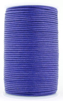 Violet Round Waxed Cotton Cord 2mm 100 meters