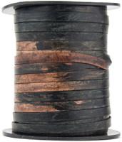 Gypsy Sippa Flat Leather Cord  5 mm 1 Yard
