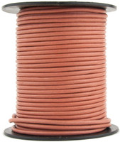 Terracota Round Leather Cord 1.5mm 10 meters