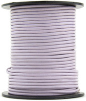 Lavender Round Leather Cord 1.0mm 50 meters