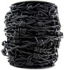 Black Natural Barbed Wire Leather Cord 1 Meter