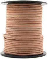 Rawhide Natural Round Leather Cord 1.5mm 25 meters