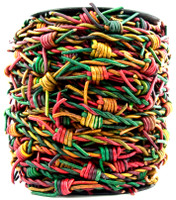 Kinte Gypsy Barbed Wire Leather Cord-1 Meter