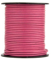 Honey Suckle Round Leather Cord 2.0mm 100 meters