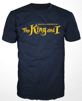 King and I Logo Tee