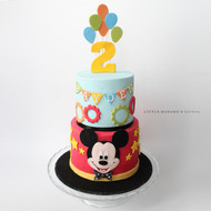 Mickey kids birthday cake