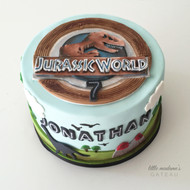 Jurassic World Kids Birthday Cake