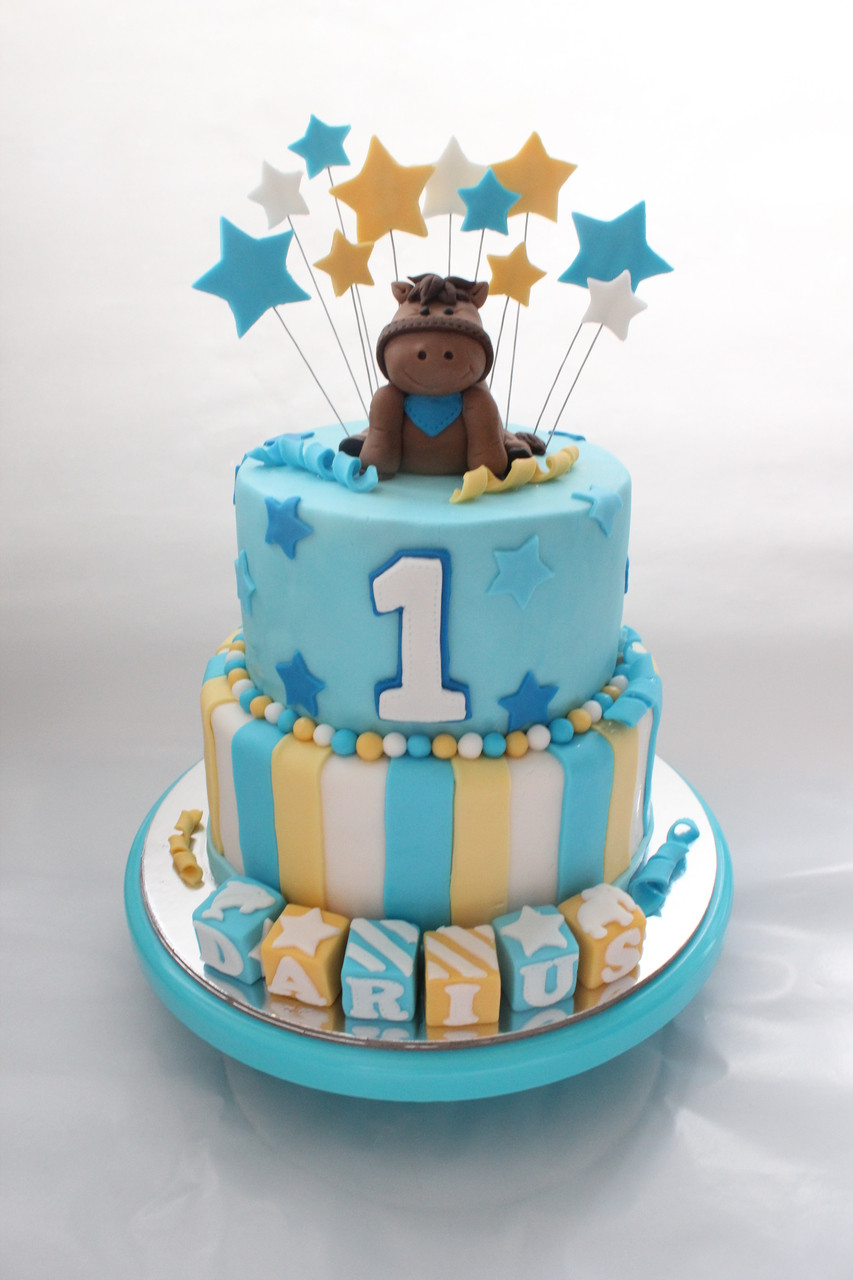 Wondrous Horse Themed Kids Birthday Cake Funny Birthday Cards Online Eattedamsfinfo