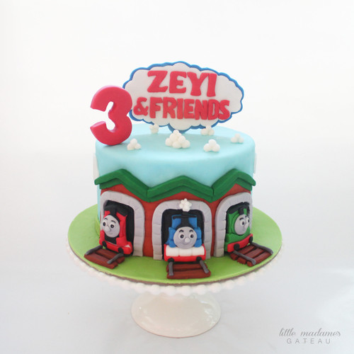 Thomas Train Kids Birthday Cake