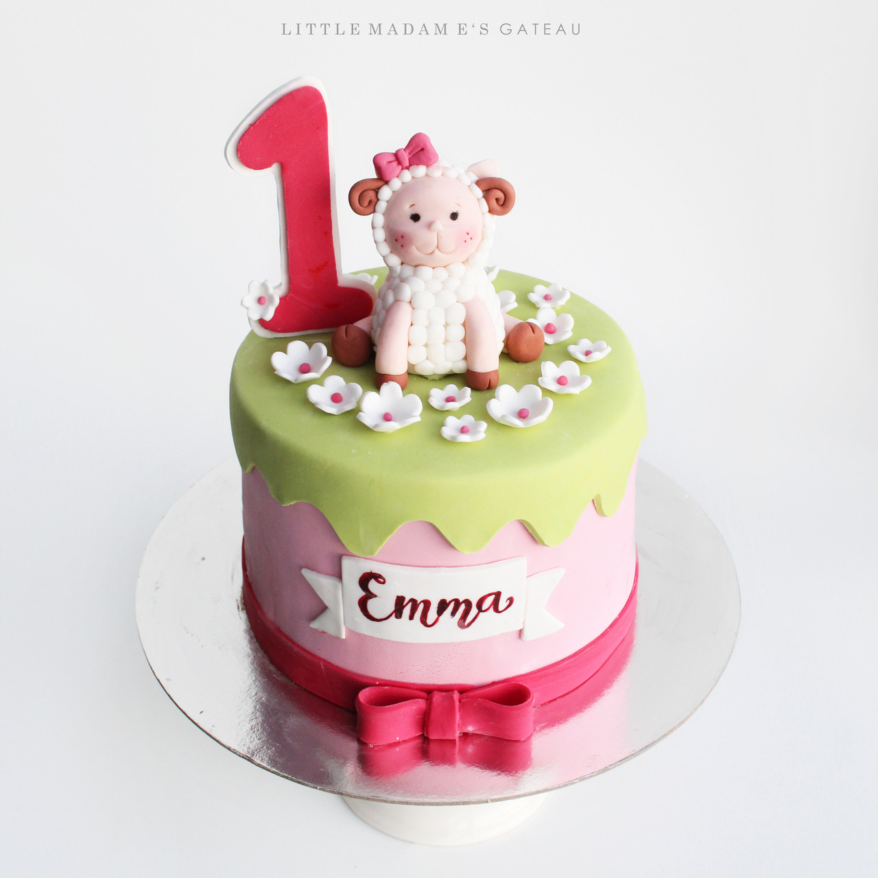 Sheep Cake Design2 Kids Birthday 54697148215295012801280c2