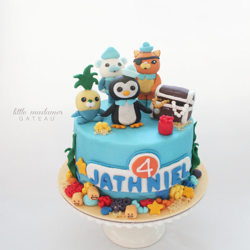 Octonaut Themed Kids Birthday Cake