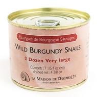 Wild Burgundy Snails, Very Large 2 Dozen