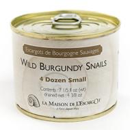 Wild Burgundy Snails 4 dozen small