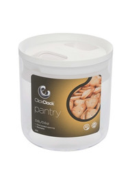 ClickClack Pantry .6qt - White - Set of 4