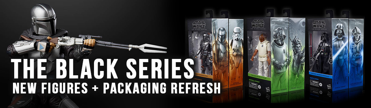 New Black Series 2020 packaging design and new figure releases
