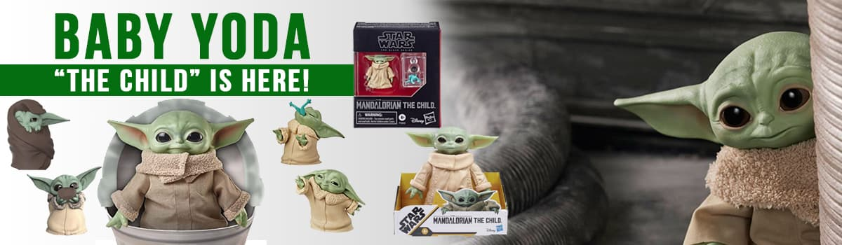 Baby Yoda Figures and Toys