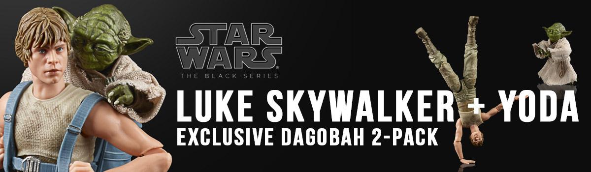 Luke Skywalker and  Yoda Black Series Action Figure 2-Pack