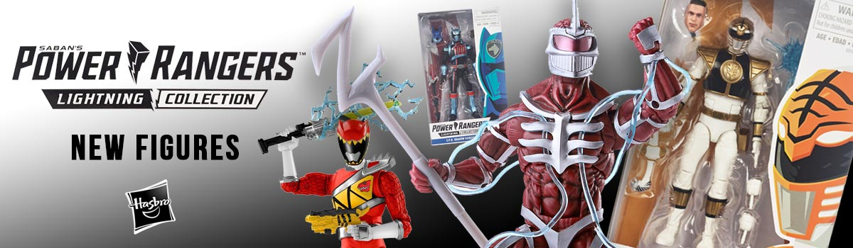 Power Rangers Lightning Collection Wave 1