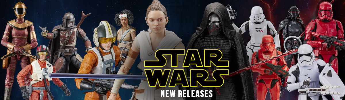 New Star Wars Triple Force Friday Action Figure Releases