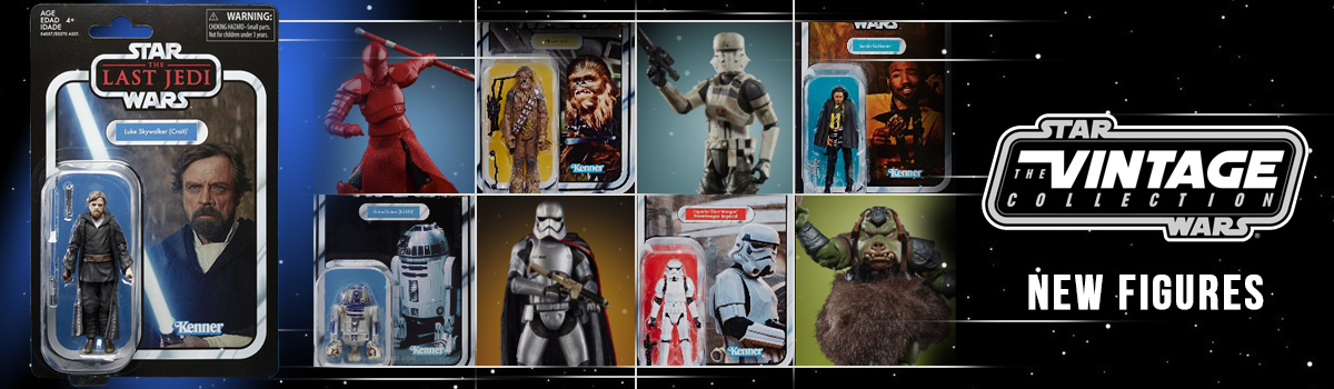 New Star Wars Vintage Collection Figures