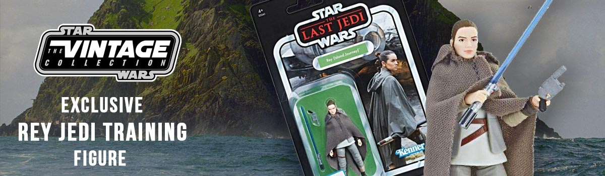 Exclusive Vintage Collection Rey Jedi Training Figure In Stock Now
