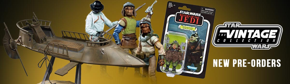 New Vintage Collection Pre-Orders for Jabba's Skiff Items