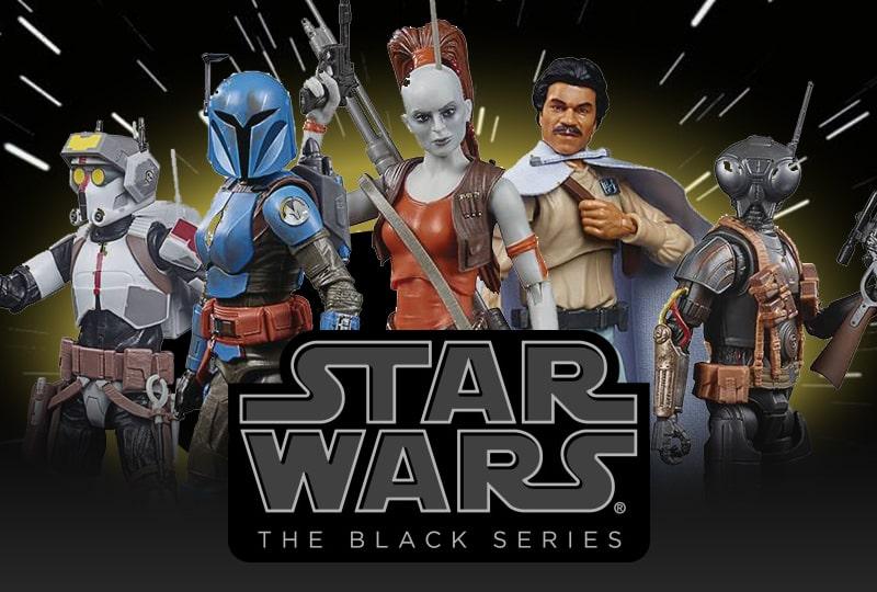 Star Wars Black Series 6 inch figures